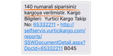 woocommerce kargo takip eklentisi sms kısa mesaj ile kargo bilgileri bildirimi
