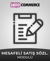 Woocommerce mesafeli satış sözleşmesi ve ön bilgilendirme formu eklentisi